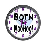 WooHoo! Wall Clock