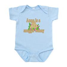 Anna is a Snuggle Bunny Infant Bodysuit
