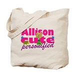 Cute Allison Tote Bag