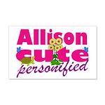Cute Allison 22x14 Wall Peel