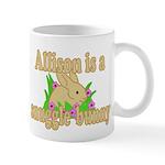 Allison is a Snuggle Bunny Mug