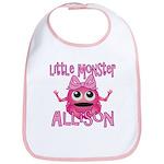 Little Monster Allison Bib