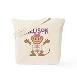 Little Monkey Allison Tote Bag
