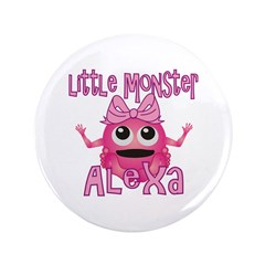 "Little Monster Alexa 3.5"" Button"