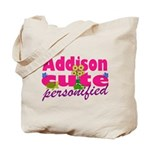 Cute Addison Tote Bag