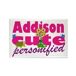 Cute Addison Rectangle Magnet