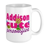 Cute Addison Large Mug