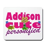 Cute Addison Mousepad