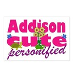 Cute Addison Postcards (Package of 8)