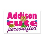 Cute Addison 22x14 Wall Peel