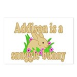 Addison is a Snuggle Bunny Postcards (Package of 8