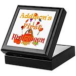 First Halloween Addison Keepsake Box