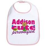 Cute Addison Bib
