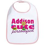 Cute Addison Bib