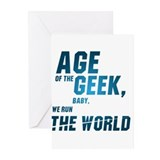 Age of the Geek, baby, ... Greeting Cards (Pk of 2