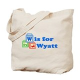 Baby Blocks Wyatt Tote Bag