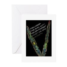 Lizard eye Greeting Cards (Pk of 10)
