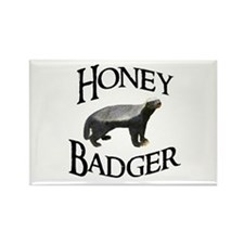 Honey Badger Rectangle Magnet (100 pack)