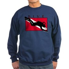 Unique Scuba diving Sweatshirt