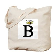 Letter B is for Bee Tote Bag