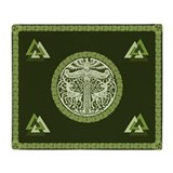 Single-Sided Asatru Blanket / Tapestry