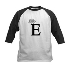 Letter E for Elephant Tee