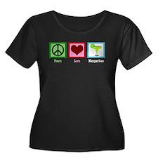 Peace Love Margaritas T