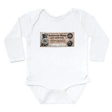 Confederate Long Sleeve Infant Bodysuit