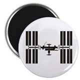 "Space Station 2.25"" Magnet (10 pack)"