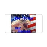 Memorial Day Aluminum License Plate