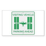 Visiting Vehicle Decal