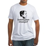 Bush: Intelligent Design? Fitted T-Shirt