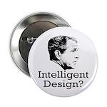 Bush: Intelligent Design? Button