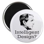 Bush: Intelligent Design? Fridge Magnet