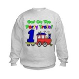 Party Train One Year Old Sweatshirt