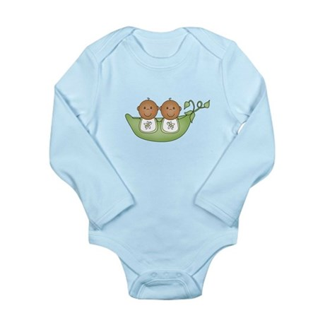 Twins Long Sleeve Infant Bodysuit