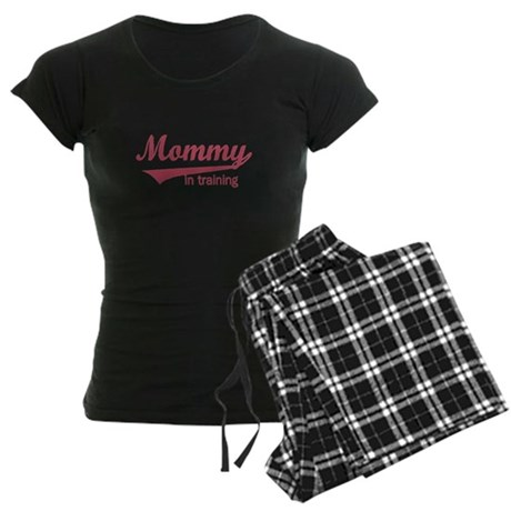 Mommy in Training Women's Dark Pajamas