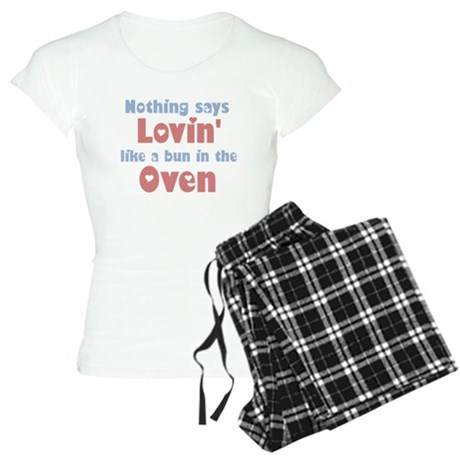 Lovin' Bun in the Oven Women's Light Pajamas