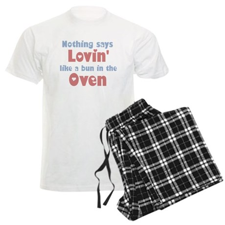 Lovin' Bun in the Oven Men's Light Pajamas