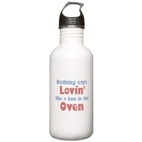 Lovin' Bun in the Oven Stainless Water Bottle 1.0L