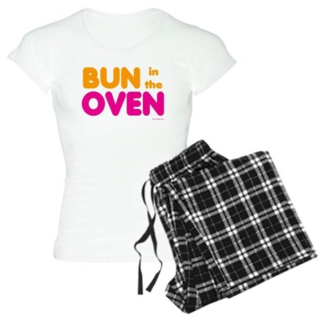 Bun in the Oven Women's Light Pajamas