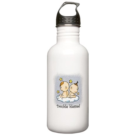 Double Blessed Stainless Water Bottle 1.0L