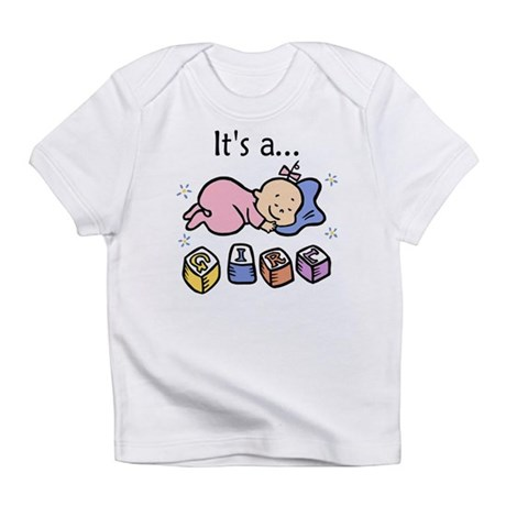 It's a Girl Infant T-Shirt