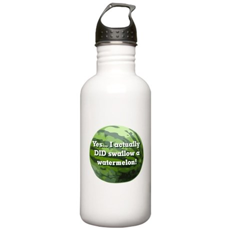 Swallow a Watermelon Stainless Water Bottle 1.0L