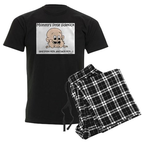 Mommy's little sidekick Men's Dark Pajamas