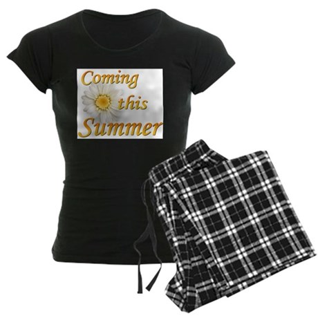 Coming this Summer Women's Dark Pajamas