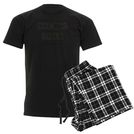 Coming Soon Men's Dark Pajamas