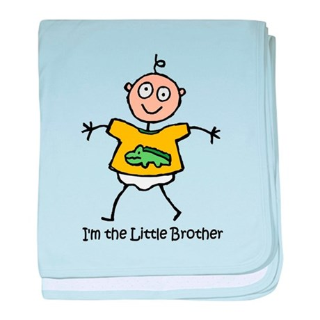 I'm the Little Brother baby blanket