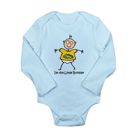 I'm the Little Brother Long Sleeve Infant Bodysuit