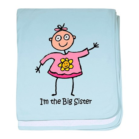 I'm the Big Sister baby blanket
